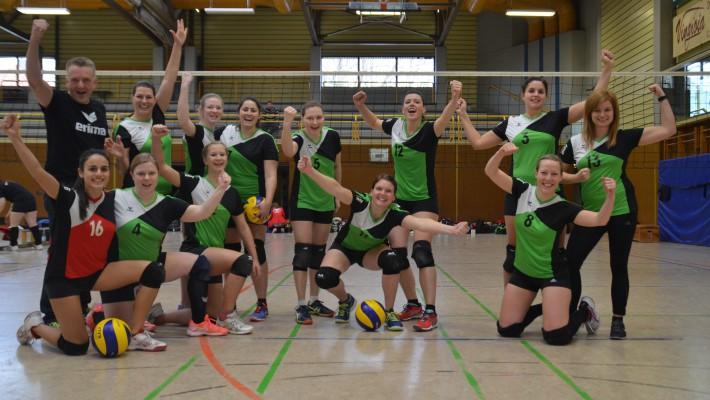 Säckinger Volleyballerinnen gewinnen gegen Tabellennachbarn und klettern vorzeitig auf Tabellenplatz 4