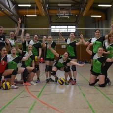 Säckinger Damen I kurz vor dem Aufstieg in die Landesliga