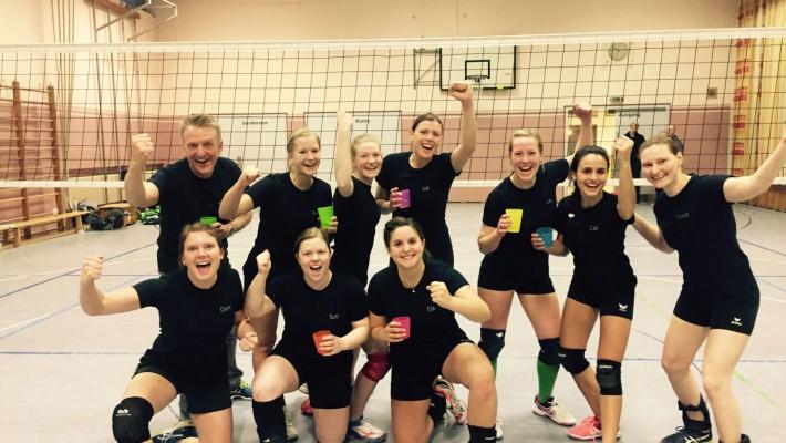 Damen I sichern sich vorzeitig den Meistertitel in der Bezirksliga Süd