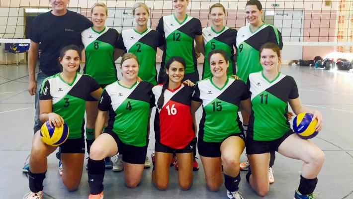 Säckinger Volleyballerinnen verlieren knapp und beenden Hinrunde im Tabellenmittelfeld