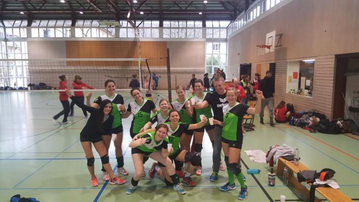 Volleyballerinnen verlieren letztes Saisonspiel gegen Freiburg-Zähringen mit 1:3
