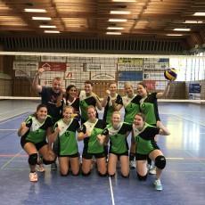 Säckinger Volleyballdamen bauen Siegesserie weiter aus