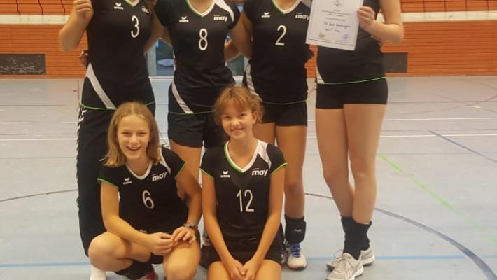 Die U18 erkämpft sich bei der Bezirksmeisterschaft den 7. Platz!