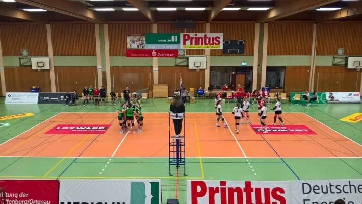 Siegesserie der Bad Säckinger Volleyballerinnen reißt auch nach der Winterpause nicht ab