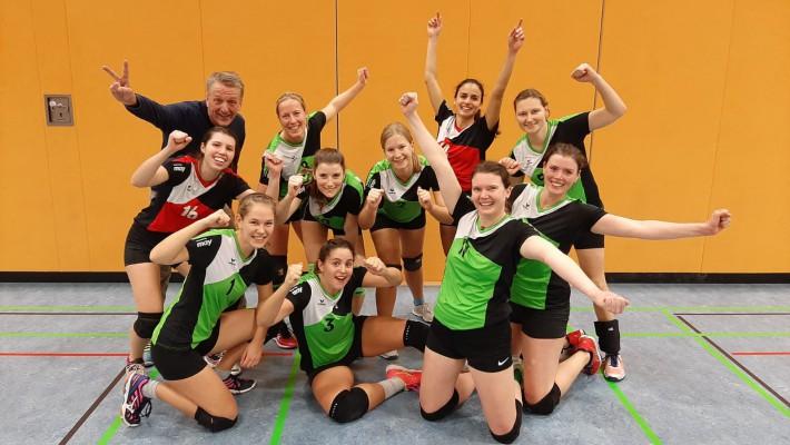 Bad Säckinger Volleyballerinnen starten mit zwei Heimsiegen in die Rückrunde