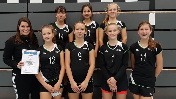 Unsere U16 weiblich qualifiziert sich für Endrunde