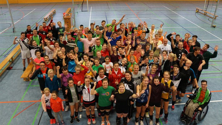 Volleyballabteilung beendet das Jahr 2019 mit viel Spaß und Freude beim Weihnachtsturnier