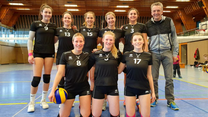 Säckinger Volleyballerinnen verlieren packendes Spitzenspiel denkbar knapp
